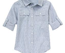 Льняная рубашка Gymboree