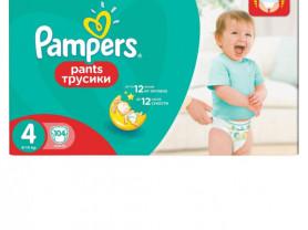 трусики-подгузники Pampers 4 (9-14кг) 104 шт