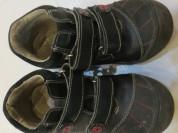кожа на коже-ботинки