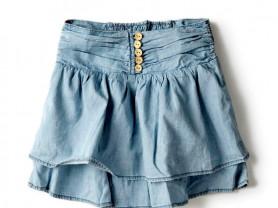 Новая джинсовая стильная юбочка ZARA 3-4года