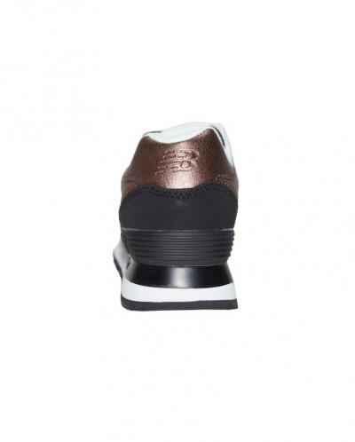 Кроссовки New Balance 574 Leather Brown Black