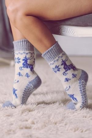 Носки шерстяные N6R34-2