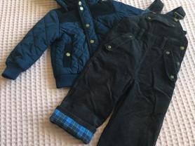 Верхняя одежда на мальчика от 1,6 до 4 лет