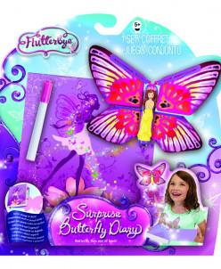 Волшебный дневник с бабочкой-сюрпризом