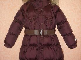 Зимнее пуховое пальто NELS/ Нельс 122см