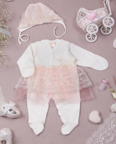 Комбинезон с юбочкой для новорожденных