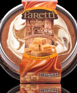 Торт бискв. Faretti  карамельный