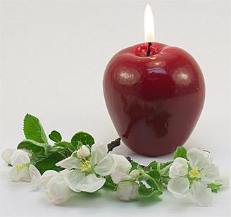 """Свеча """"Красное яблоко"""", арт. 13079"""