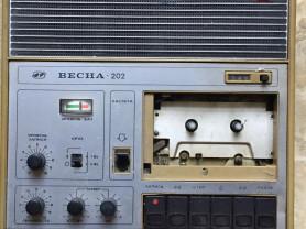 Магнитофон Весна-202