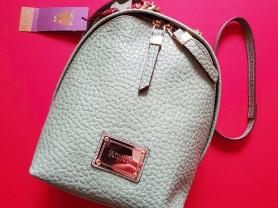 Новый кожаный рюкзак Италия