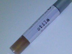 блеск для губ Stila, №brown sugar, мини/трэвел,нов