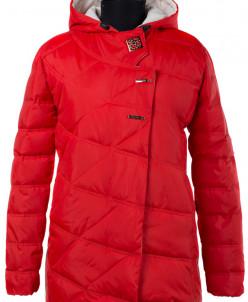04-1613 Куртка демисезонная (Синтепух 150) Плащевка Красный