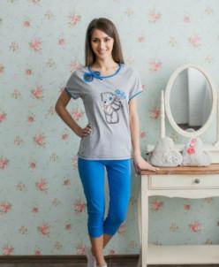"Костюм ""Мишка Тедди"" футболка +бриджи"