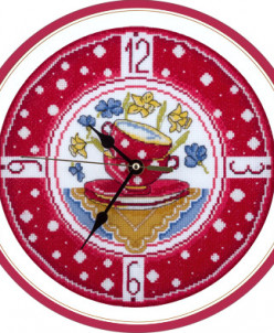 """Ч-1581 """"Часы для уютной кухни"""""""