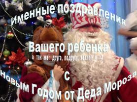 Новогоднее видео-поздравление от Деда Мороза!