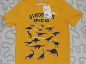 Новая футболка с коротким рукавом H&M, 110-116 см