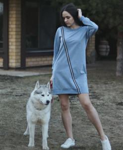 КОЛЛЕКЦИЯ GREY ПЛАТЬЕ № 153800 джинса