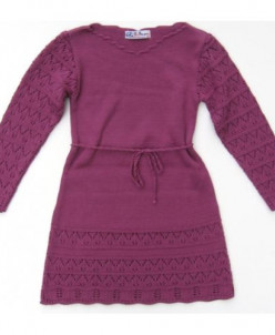 Платье арт.311 цвет лиловый