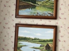 Картины масло на холсте