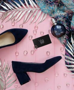 Замшевые элегантные туфли. NEW 2019!