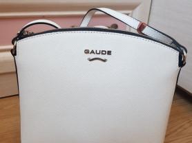 Новая белая сумка из сафьяновой кожи Италия