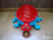 Каталка-осьминог для песочницы.