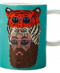 Кружка Человек-тигр в подарочной упаковке Maxwell & Williams