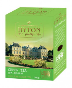 Чай Хайтон Цейлонский зеленый крупнолист картон 100г.