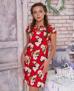 """Платье """"Вояж"""" к/р (цветы 3)"""