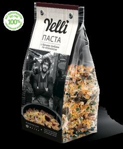 Коллекция  Yelli - Паста с белыми грибами по-итальянски
