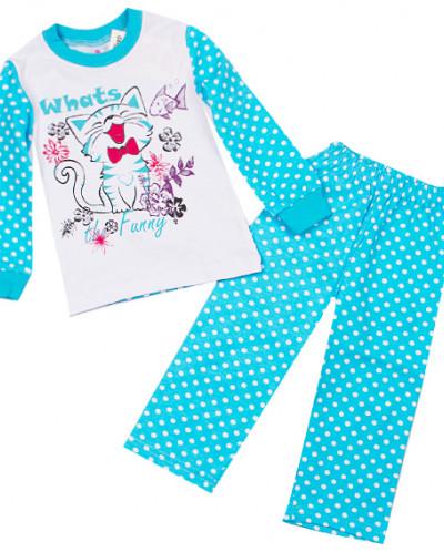 Пижама для девочки Кошки