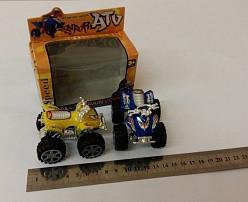 Игрушка Квадроцикл SUPER-ATV 2шт