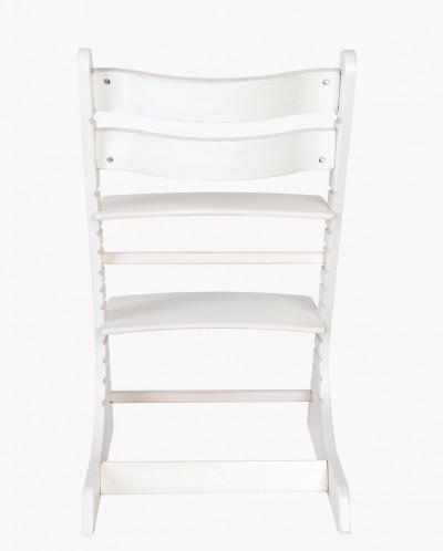 Детский регулируемый стульчик РостОк, цвет белый прозрачный