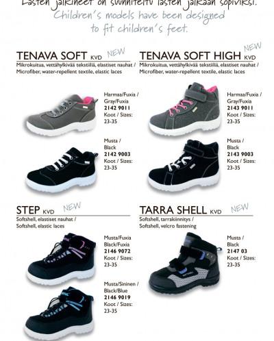 Kuoma/Куома Tarra Shell  / Step/Tenava Soft весна-осень