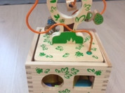 Развивающие игрушки-логический кубик