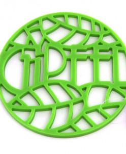 0211 GIPFEL Подставка под горячее GLUM 17х17х0,8см зеленая М