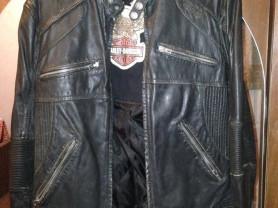 кожаная куртка harley-davidson