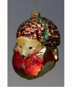 Елочная игрушка Обитатели леса Holiday Classics. Ежик