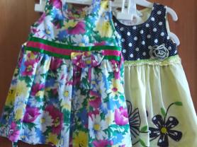 Продам платья на малышку