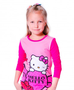 Кофта Hello Kitty малинка