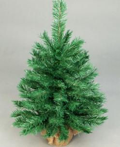 Ель настольная зеленая в мешке 61см Holiday Classics