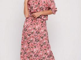 Комфортное платье из штапеля.