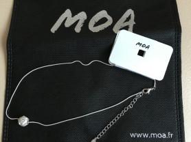 """Стильная подвеска """"Cristal"""" MOA (Франция) Новая"""