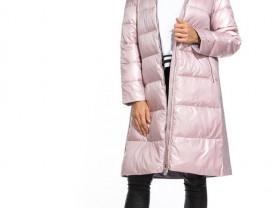 Пальто с натуральным мехом р.48