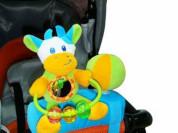 Игрушка на бампер коляски I-BABY КОРОВА