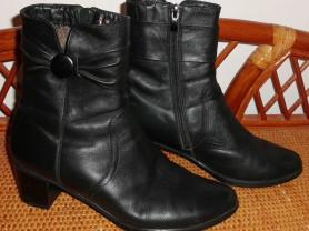 Ботинки женские зимние натуральная кожа и мех 38