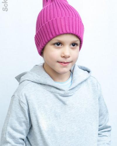 bb321841f7e7 Демисезонная шапка-трюфель для девочки 2944811 - Babyblog.ru