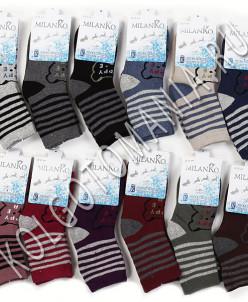 Подростковые носки махровые (4) MilanKo