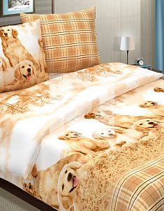 Поплин Верные 1,5 спальный