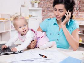 Онлайн подработка для мам в декрете